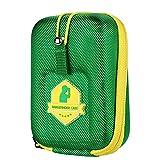 Elikliv Golf Telémetro Estuche Eva Duro Funda Compatible Con Bushnell Tectectec Nikon Callway Telémetros y Más (Verde)