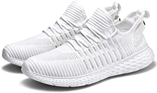 AUCDK Couple Comfy Mesh Trainers Women Casual Running Shoes Men Ultra Light Sports Shoes Breathable Walking Sneakers