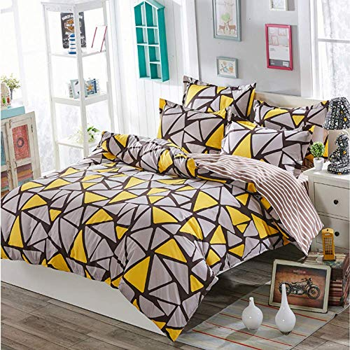 QWEASDZX Quilt Bedding Set Quilted Bed Cover Delicate And Soft To The Touch Breathable Moisture Absorption Easy To Clean 1.0m