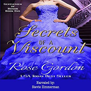 Secrets of a Viscount audiobook cover art