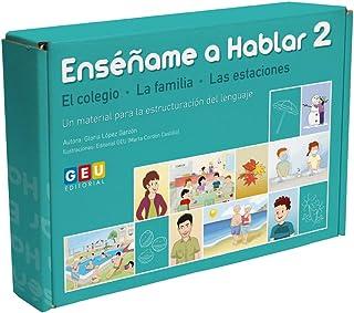 Enséñame A Hablar 2: Estructuración del Lenguaje Vocabulario El Colegio (Niños de 3 a 5 años Educación Infantil y Educació...