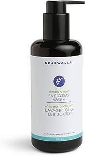 Soapwalla - Organic Citrus & Mint Everyday Wash | Natural, Clean Beauty (6.76 oz | 200 ml)