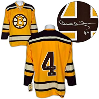 Bobby Orr Signed Jersey - Yellow Rookie CCM Vintage : GNR COA - Autographed NHL Jerseys