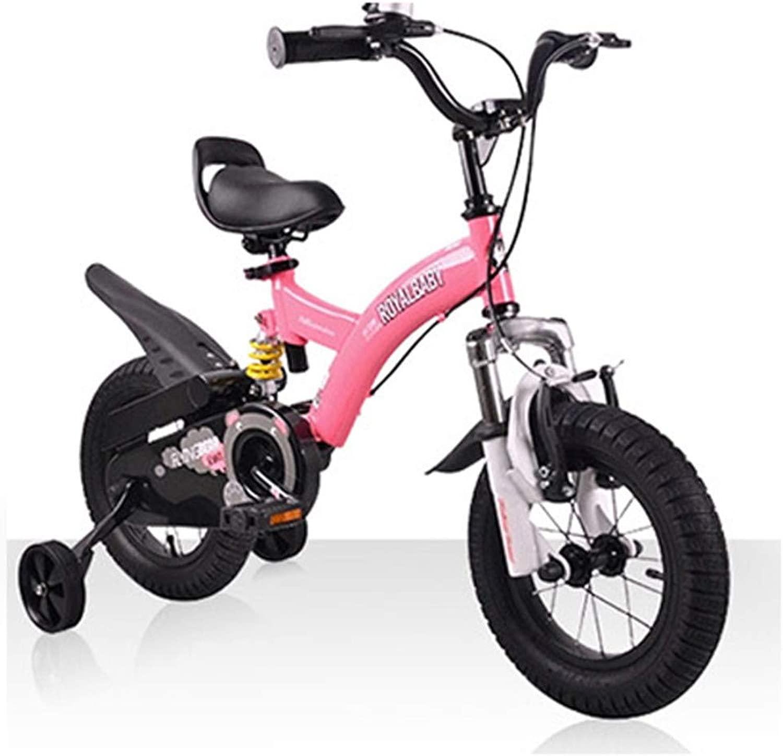 子供のバイクトレーニングホイールとフロントとリアのショックアブソーバーが付いている高炭素鋼鉄自転車フレームの自転車