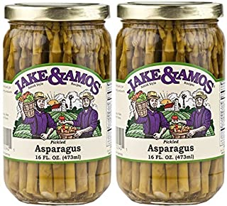 Jake & Amos – Pickled Asparagus / 2 – 16 Oz. Jars