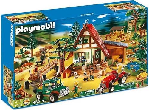 Playmobil 5004 Forsthaus Mega-Set