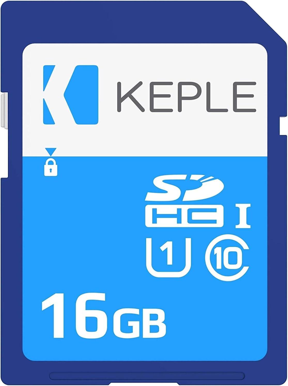 16GB SD Card Class 10 High Speed Memory Card Compatible with Nikon Coolpix W100, B500, B700, A900, A100, S6500, S5200, S9500, S3500, S3600, S5300, L26, L810, L610, L820 Camera | UHS-1 U1 SDHC 16 GB