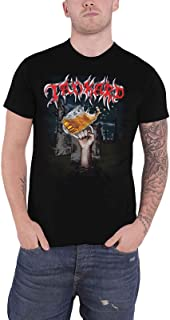 T Shirt Die with A Beer Band Logo Official Mens Black