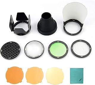 Godox AK-R1 Flash de bolsillo Kit de accesorios para Godox H200R Cabeza de Flash Redonda Accesorios