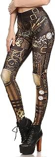 Steampunk Leggings para Mujer, gótico