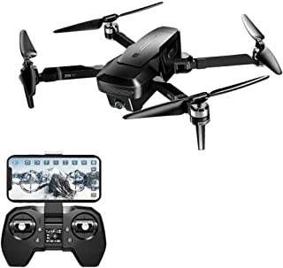 ErYao Visuo Zen K1 Drone GPS RC Drone with 4K/720P Dual Camera Wide-Angle HD Dual Camera Gesture Control 5G WiFi FPV Brushless Motor RTF Optical Flow Positioning, 30mins Flight Time, US Stock