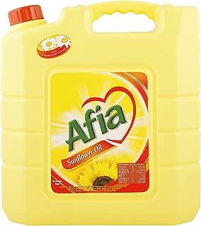 Afia Sunflower Oil - 9 Liter