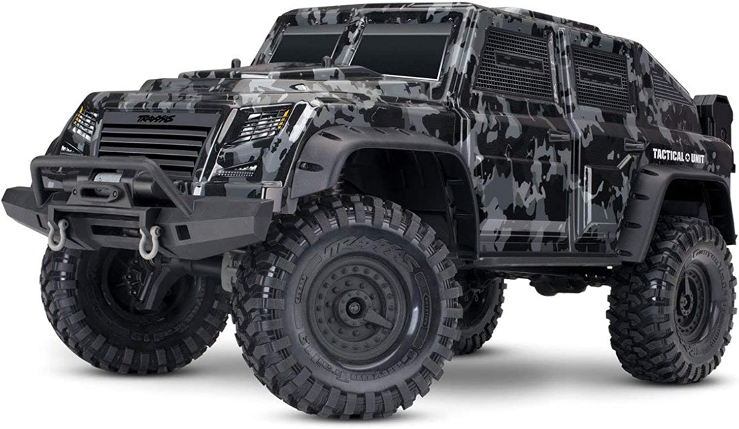 TRAXXAS Body, Tactical Unit, night camo (painted)  decals (TRX8211X)