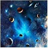 Bdhnmx Puzzle-Blue Fantasy of Outer Space- Space Puzzle Challenge Blue Board Rompecabezas (1000 Piezas)