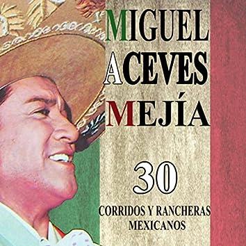 30 corridos y rancheras mexicanos