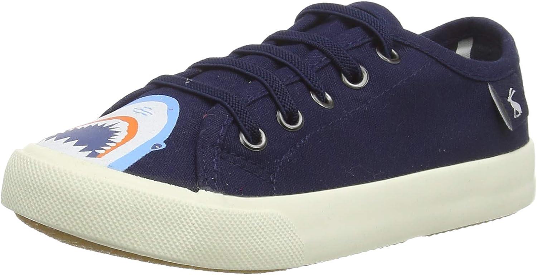 Joules Unisex-Child Jnr Coast Pump Sneaker