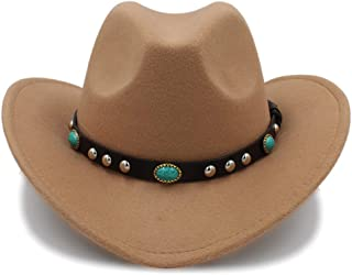 Ruiyue New Cowboy Jazz Hat Arrival Fashion Cowboy Hat Party Costumes Cowgirl Roll Up Hat For Women Men