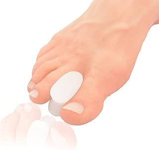 Dr. Frederick's Original Gel Toe Separators - Bunion Pain Relief for Men & Women - 6 Pieces - Large