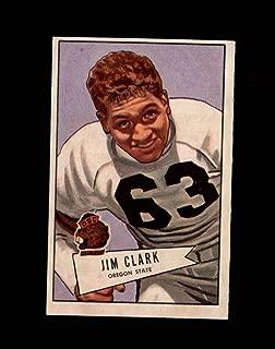1952 Bowman Large Football #066 James Clark STARX 5.5 EX+ CS52914