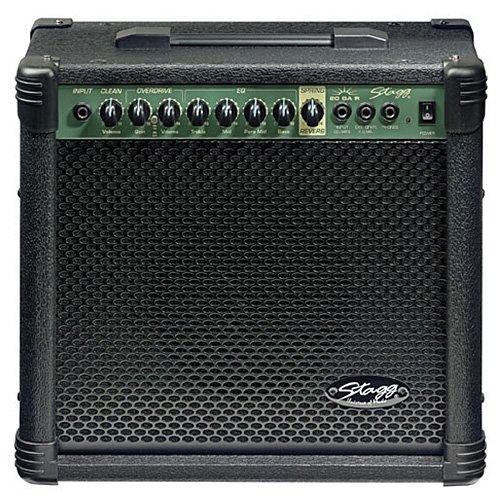 Stagg 25015598 20 GA R EU Spring REVB Gitarre Amplifier (20 Watt)