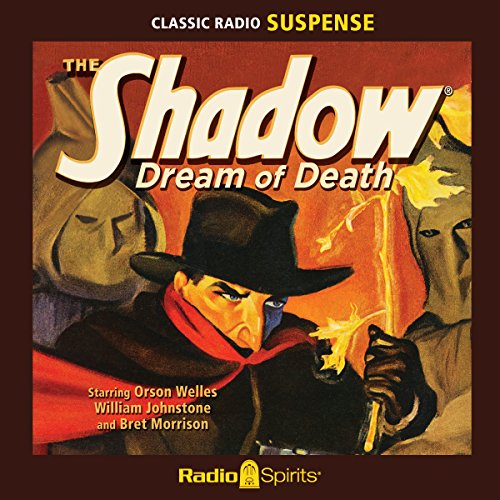 The Shadow: Dream of Death audiobook cover art