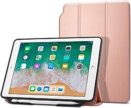 Spigen Smart Fold 2 Compatible con Apple iPad 9.7 (2017) Funda - Oro Rosa
