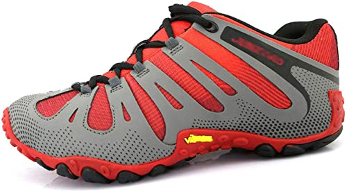 MYXUA Chaussures de randonnée en plein air pour hommes, chaussures de randonnée pour hommes