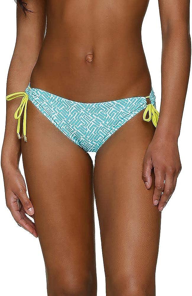 Helen Jon Women's Sunset Key Tunnel Loop Tie Side Hipster Bikini
