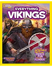 Ngk Everything Vikings: All the Incredible Facts and Fierce Fun You Can Plunder