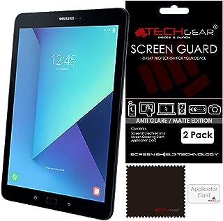 TECHGEAR [2-pack] ANTI GLARE skärmskydd för Samsung Galaxy Tab S3 9,7 tum (SM-T820/SM-T825) - matt LCD-skärmskydd Gaurd sk...