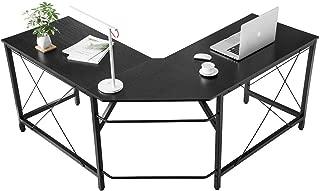 Mr IRONSTONE L-Shaped Desk Corner Table Computer Desk 59