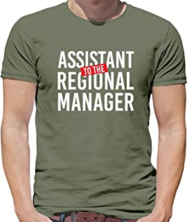 Assistant to The Regional Manager - Mens T-Shirt - 13 Colours
