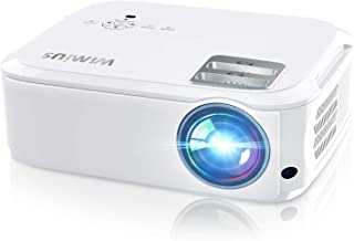 Projector, WiMiUS P21 5800 Lumens Video Projector Native 1080P LED Projector Support 4K Zoom 300