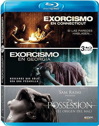 Pack: Exorcismo En Connecticut + Exorcismo En Georgia + The Possession [Blu-ray]