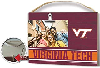 KH Sports Fan Clip It Colored Logo Photo Frame Virginia Tech Hokies