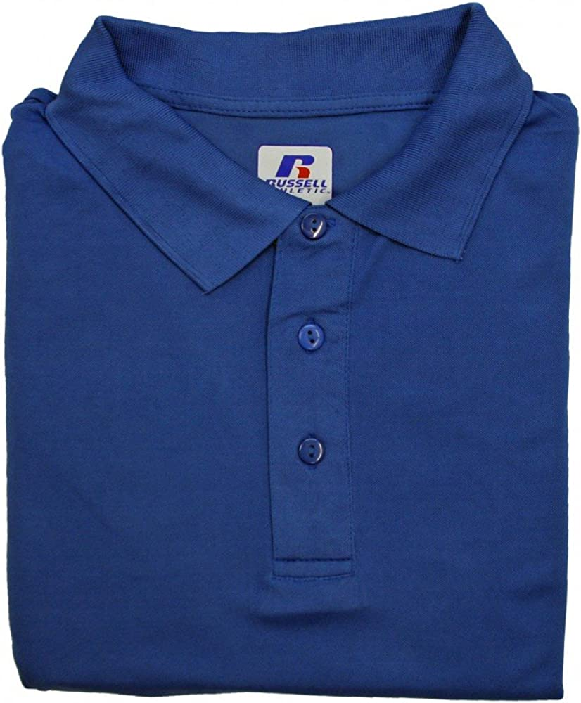 Russell Athletic Men's Big & Tall Dri-Power Short-Sleeve Polo Shirt