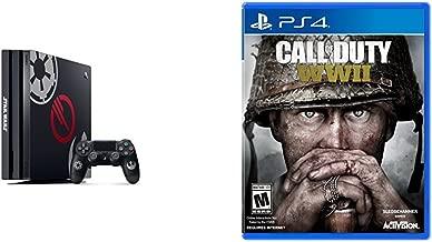 PlayStation 4 Pro 1 TB Star Wars Battlefront II Bundle + Call of Duty: WWII - PlayStation 4 Standard Edition