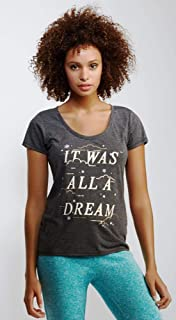 Aeropostale Ash Grey Round Neck T-Shirt For Women