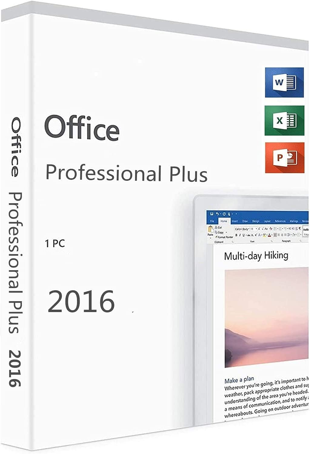 Office Professional 2016 1 PC version with Lifetime Key