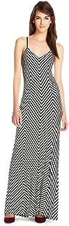 Mossimo Supply Co Women's Striped Spaghetti Strap Long Dress