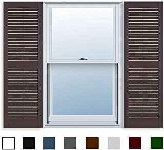 Amazon.com: Brown - Window Shutters / Window Treatments ...