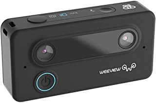 Weeview 3D Video Camera (1.5x3.14 inches_Black)