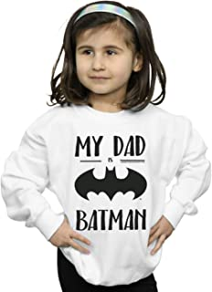DC Comics Girls Batman My Dad Is Batman Sweatshirt