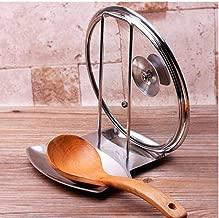 KINTRADE Estilo de la Olla Sart/én Cubierta de la Tapa de la Olla Estante del Soporte del Soporte de la Cuchara Rack Utensilio de Cocina