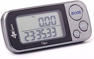 Ozeri 4x3sport Tri-Mode Activity Tracker (Walk, Run, & Stair Climb), with Multi-Axis..