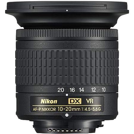 Nikon AF-P DX Nikkor 10-20mm f/4.5-5.6G VR F/4.5-29 Fixed Zoom Camera Lens (Black)