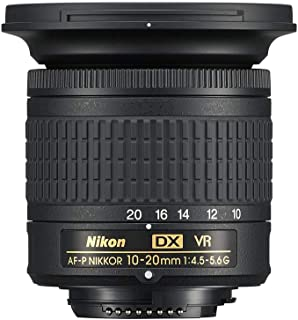 Nikon AF-P DX NIKKOR 10-20 mm 1:4.5-5.6G VR objektiv svart