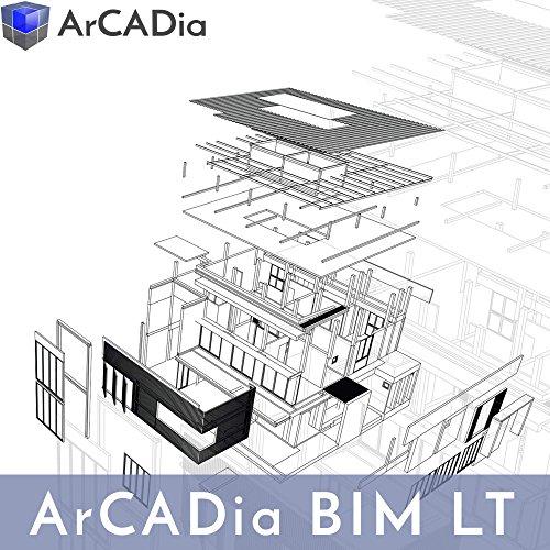 ArCADia BIM LT, Grundmodul zur professionellen 2D & 3D BIM-Planung, 2D / 3D CAD BIM Software für das Bauwesen [USB-STICK]