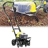 Motozappa elettrica senza fili con ruote, motozappa elettrica senza fili, coltivatore elet...