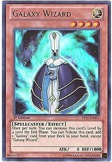 Yu-Gi-Oh!! - Galaxy Wizard (ZTIN-EN011) - 2013 Zexal Collection Tin - 1st Edition - Ultra Rare